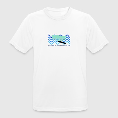 WHALE - T-shirt respirant Homme