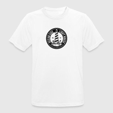 Oceanside Lighthouse - Herre T-shirt svedtransporterende
