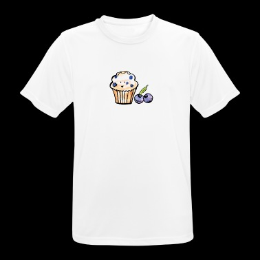 Blueberry Muffin - mannen T-shirt ademend