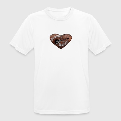 Blue Heart - Men's Breathable T-Shirt