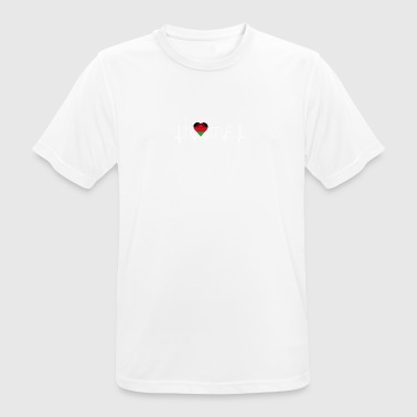 i love home home Malawi - Men's Breathable T-Shirt