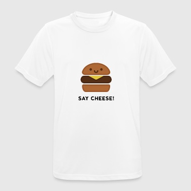 Say Cheese! - Herre T-shirt svedtransporterende