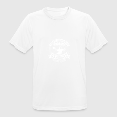 Handball IF YOU THINK I'M HOT - Men's Breathable T-Shirt