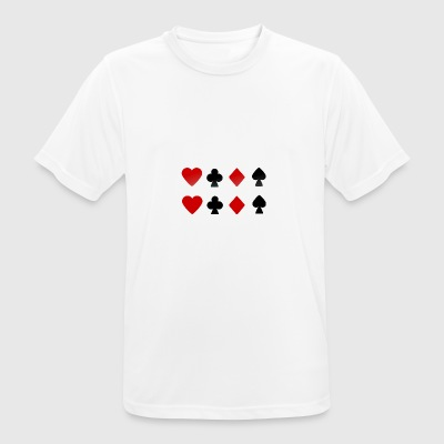 Cards - Men's Breathable T-Shirt