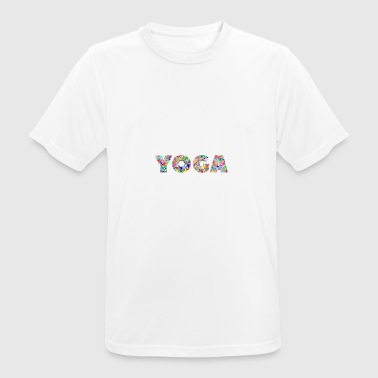 conception abstraite de yoga - T-shirt respirant Homme