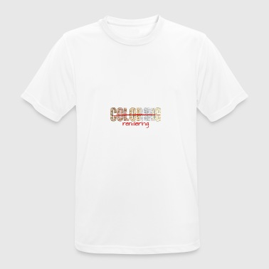Architect / Architecture: Coloring - Rendering - Men's Breathable T-Shirt