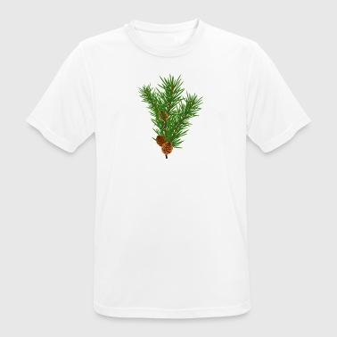 Pine branch - Men's Breathable T-Shirt