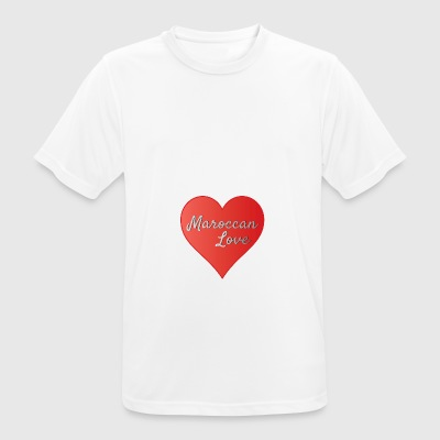 Maroccan_Love_LifeStyle Logo - Men's Breathable T-Shirt