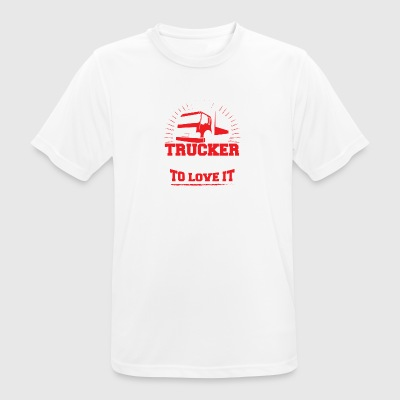 TALENTED trucker - Men's Breathable T-Shirt