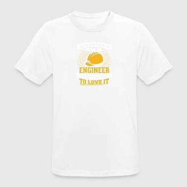 TALENTED engineer - mannen T-shirt ademend