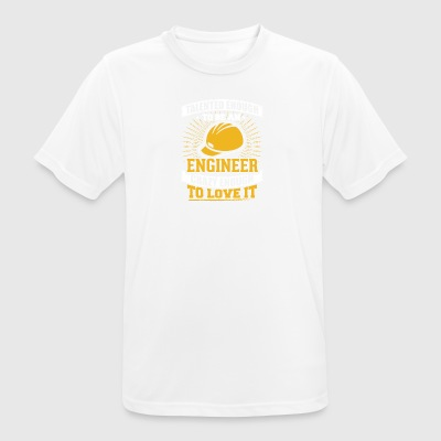TALENTED engineer - Men's Breathable T-Shirt