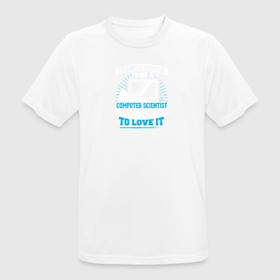 TALENTED computer - Men's Breathable T-Shirt