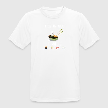 Sushi - This is how I roll - Männer T-Shirt atmungsaktiv