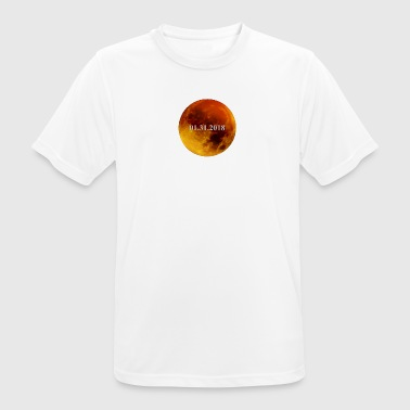 Lunar Eclipse 2018 Eclipse lunar - Camiseta hombre transpirable
