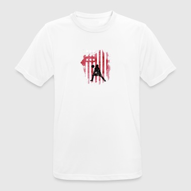 Handball America - Men's Breathable T-Shirt