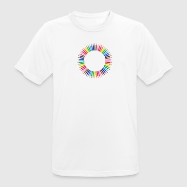 diversity diversity buntstifte circle tolerant - Men's Breathable T-Shirt