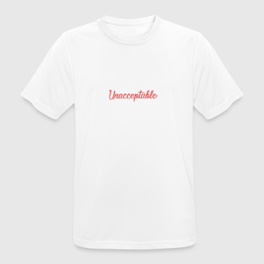 SOCIAL UNACCEPTABLE FUNNY SPRAY GIFT - Men's Breathable T-Shirt