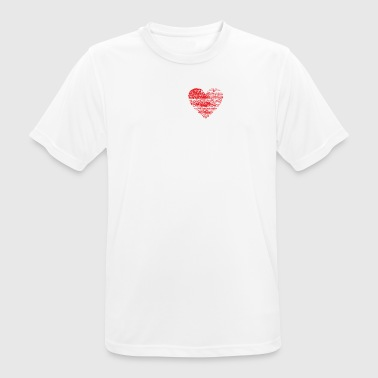 I love SPEEDCORE hardtekk dubstep raver festival - Men's Breathable T-Shirt