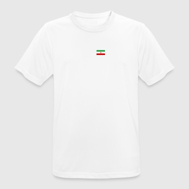 ECG heartbeat IRAN - Men's Breathable T-Shirt