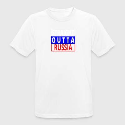 Straight outta Russian Federation russia sovjet png - Men's Breathable T-Shirt