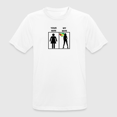 Guyana gift my your wife - Men's Breathable T-Shirt