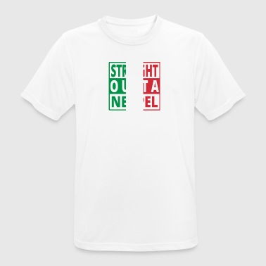 Straight outta Italia Italy Naples - Men's Breathable T-Shirt