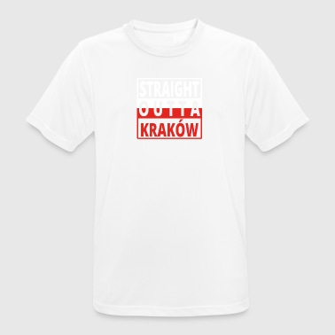 Straight Outta Polska Cracovie - T-shirt respirant Homme