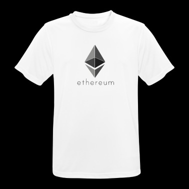 Ethereum Logo 2 - Men's Breathable T-Shirt