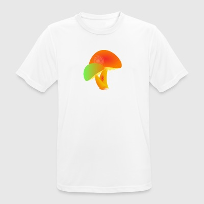 mushrooms - Men's Breathable T-Shirt