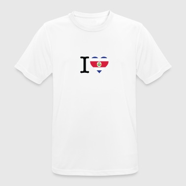 I Love Costa Rica - Men's Breathable T-Shirt