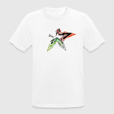 Acid star - Men's Breathable T-Shirt