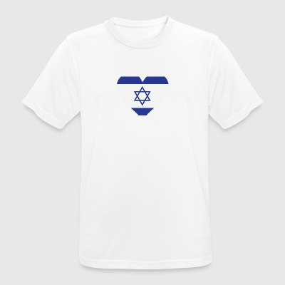 A Heart For Israel - Men's Breathable T-Shirt