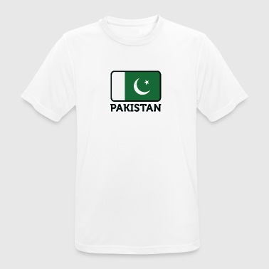Nationale Vlag Van Pakistan - mannen T-shirt ademend