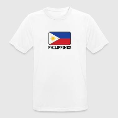 National Flag Of The Philippines - Men's Breathable T-Shirt