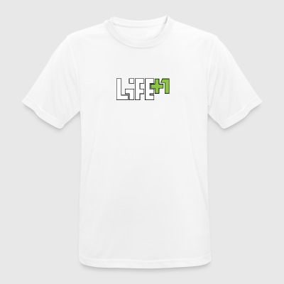 Life +1 - Men's Breathable T-Shirt