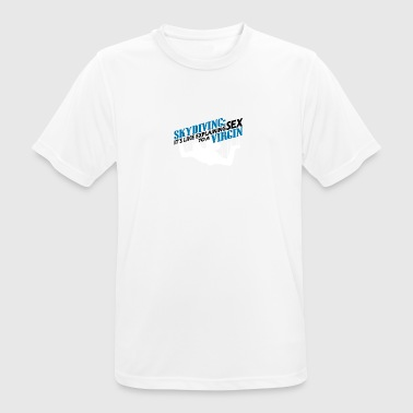 skydiving - Men's Breathable T-Shirt