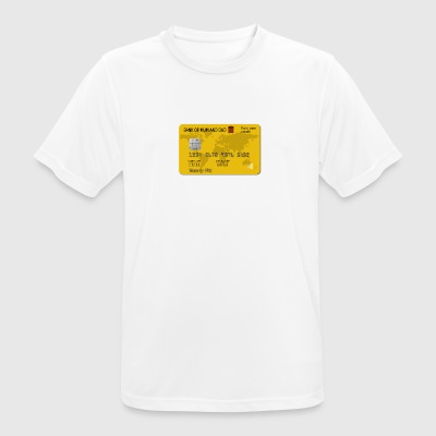 Credit card - Men's Breathable T-Shirt