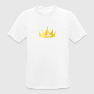 Fairytale: Charming - Crown - Men's Breathable T-Shirt