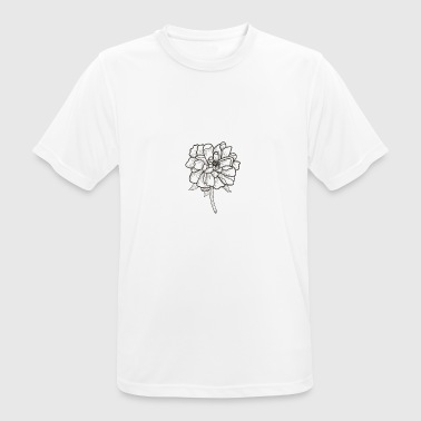 Flower Power - T-shirt respirant Homme
