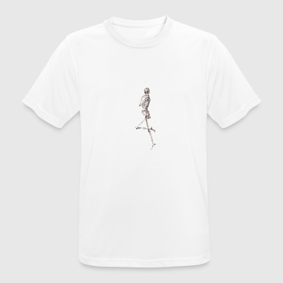 Skeleton - Abstract 2 - Herre T-shirt svedtransporterende