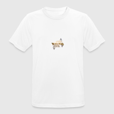 Triangle Road - Männer T-Shirt atmungsaktiv