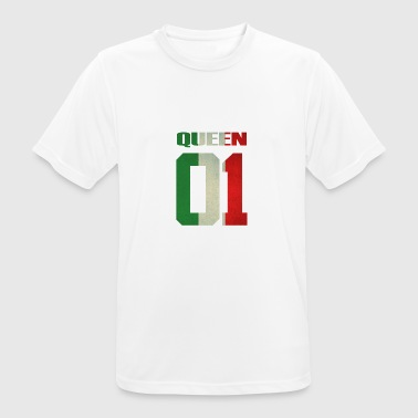 Queen 01 italia italy queen king ra regina familia - Men's Breathable T-Shirt