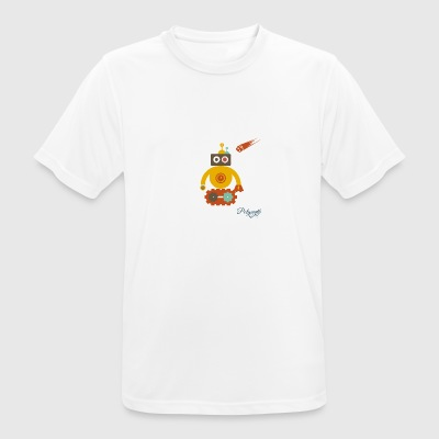 Cheeky robot - Men's Breathable T-Shirt