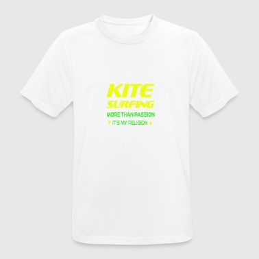 KITEBOARD PLUS DE PASSION - ITS MY RELIGION - T-shirt respirant Homme