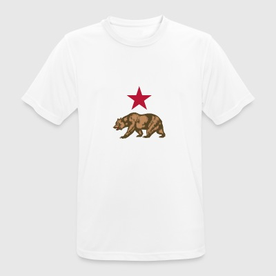Russian bear - Men's Breathable T-Shirt