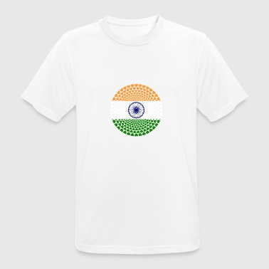 INDIA LOVE HEART Mandala - Men's Breathable T-Shirt