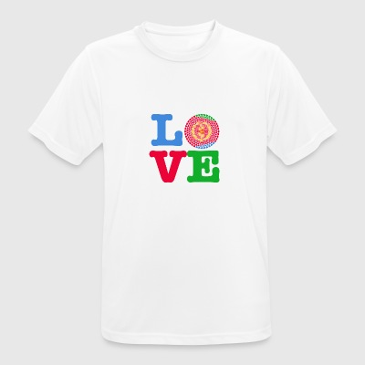 ERITREA HEART - Men's Breathable T-Shirt