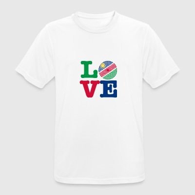 NAMIBIA HEART - Men's Breathable T-Shirt