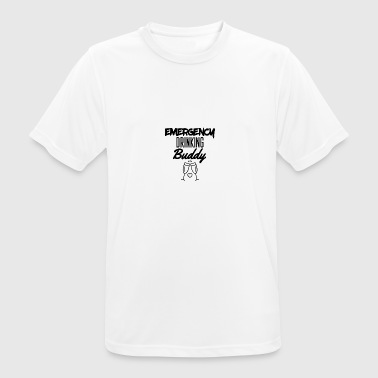 Emergency drinking buddy - Men's Breathable T-Shirt