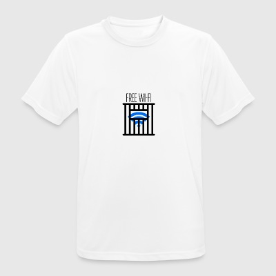 FREE the WiFi - Men's Breathable T-Shirt